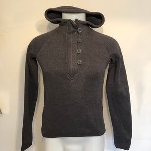 The North Face, Women's Pullover, Button 1/4 Zip M